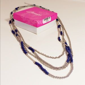 Premier Designs True Blue necklace